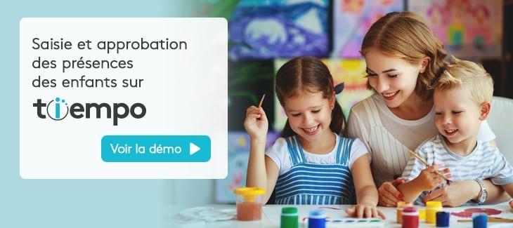 Tiempo - Présences des enfants